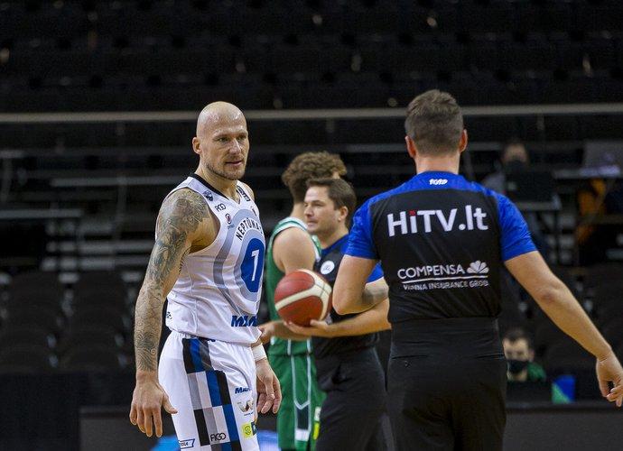 M.Mažeika tikisi rungtyniauti ir kitą sezoną (BNS nuotr.)