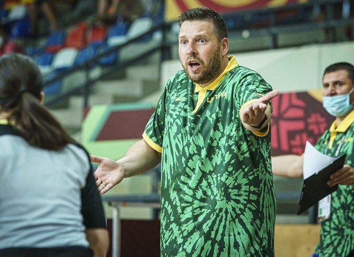 G.Petrauskas prisiminė istorijų iš etapo Vengrijoje (FIBA nuotr.)