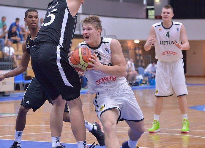 M.Mockevičius atsikleidė priežastis, kodėl metė krepšinį (FIBA Europe nuotr.)