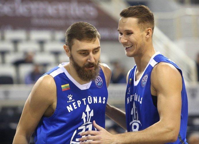 Klaipėdiečiai iššvaistė persvarą, bet ją vėl atgavo po pertraukos (FIBA nuotr.)