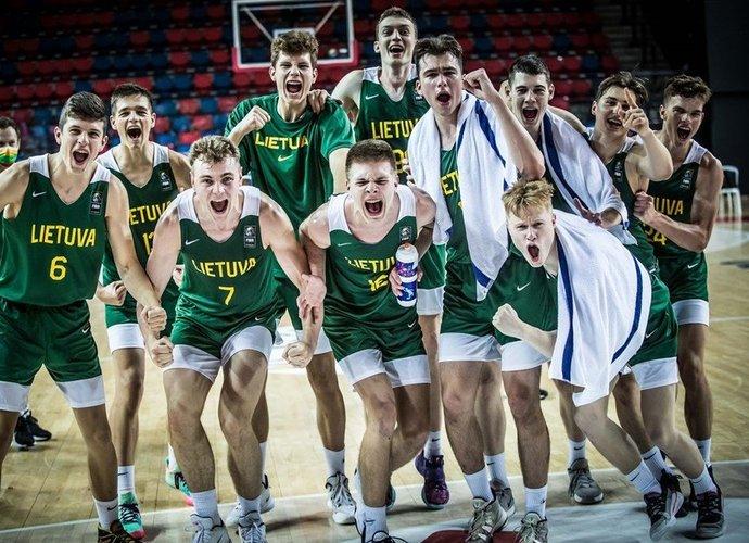Aštuoniolikmečiai iškovojo pergalę (FIBA Europe nuotr.)