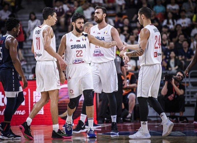 Serbija pretenduoja į olimpiadą (FIBA nuotr.)