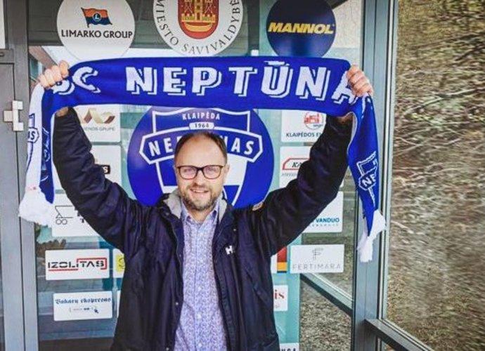 T.Mačiulskis tapo Klaipėdos klubo direktoriumi