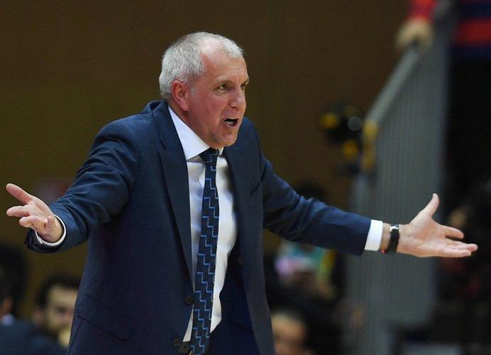 Ž.Obradovičius išrinktas geriausiu dešimtmečio treneriu (Scanpix nuotr.)