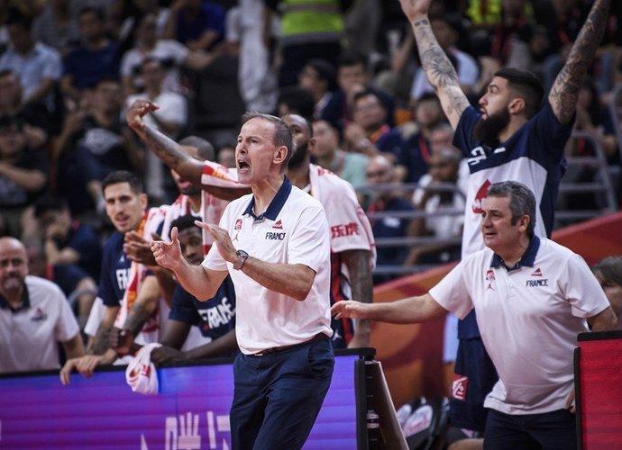 Prancūzija žengė į pusfinalį (FIBA nuotr.)