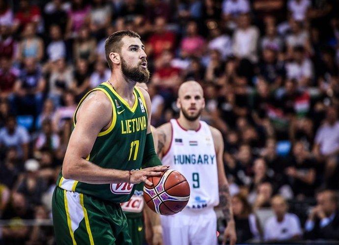 Lietuvos rinktinė kovos H grupėje (FIBA nuotr.)