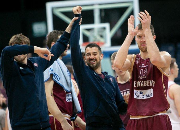 Komanda tikisi, kad tiek S.Jasaitis, tiek S.Sinovecas jau žais ketvirtfinalyje (BNS nuotr.)