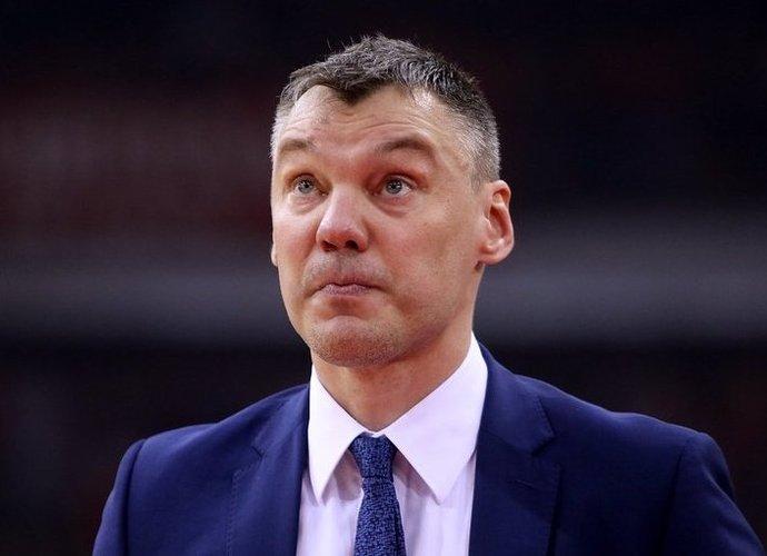 Š.Jasikevičius panoro antrosioms rungtynėms ruoštis kitoje arenoje (Klubo nuotr.)